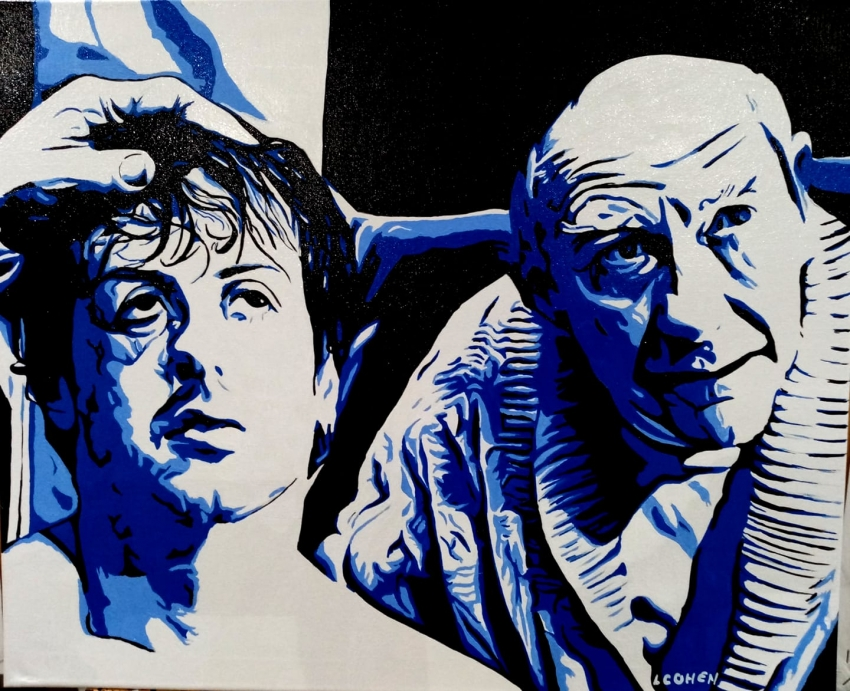 Sylvester Stallone by LIONEL.COHEN